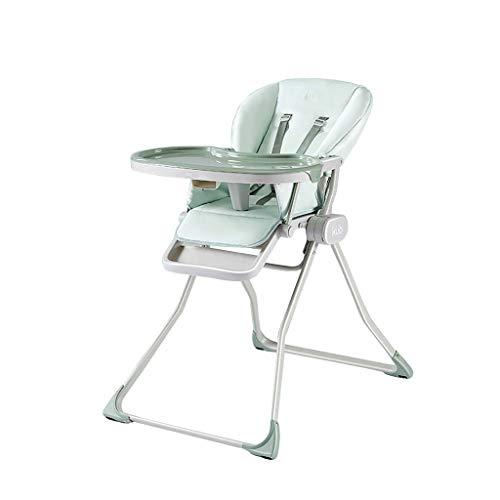 Comfortable Home Chaise Haute réglable avec Angle réglable, Assiette Pliante à Un Bouton et Plaque de qualité Alimentaire pour Nourrissons de 6 Mois à 6 Ans