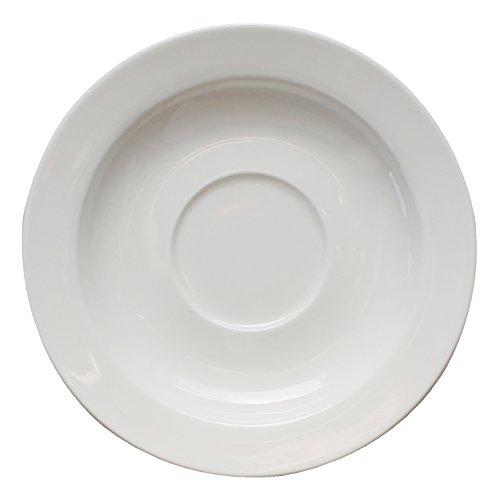 Eñe Plato para Taza de café, 12 cm, Porcelana, Blanco