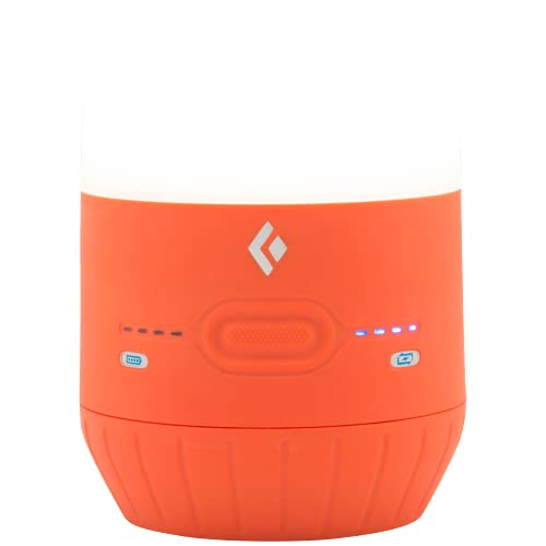 Black Diamond Moji Charging Station luz de Tienda, Unisex-Adult, Vibrant Orange, One Size
