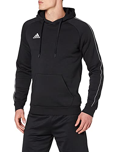 adidas Football App Generic Hooded Sweat, Uomo, Black/White, L