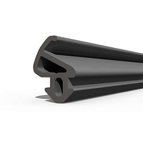 DQ-PP Fensterdichtung | Schwarz | 10 Meter | S-900 LB | PVC Fenster | Gummidichtug Dichtung Dichtband | Kunststofffensterdichtungen | ALU Profildichtung Türdichtung