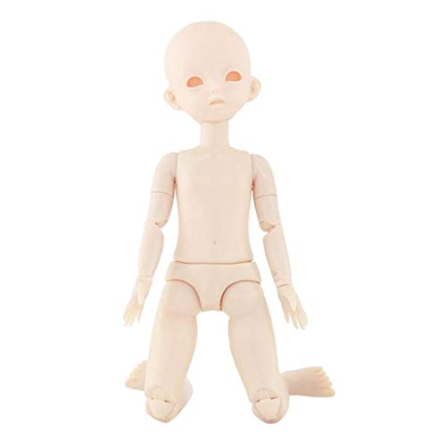 Abbraccia 1/6 Ball Jointed Female Figure Doll Body DIY Making Accessory with Shoes