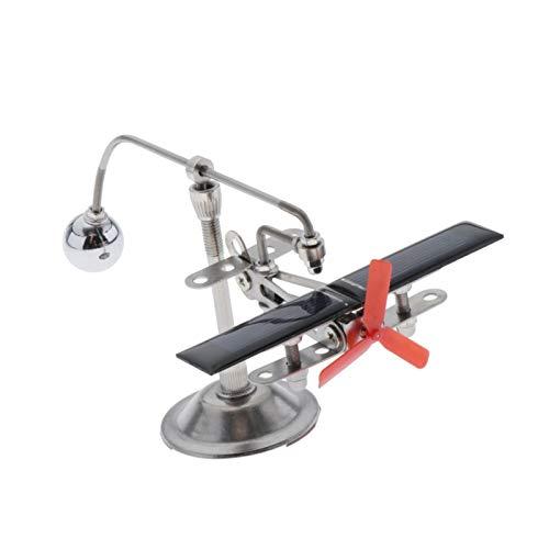 Youpin Solar Magnetic Levitation Mendocino Motor, Arbeitszimmer Garten Schreibtisch Dekor, solarbetriebene Flugzeug Modell Spielzeug
