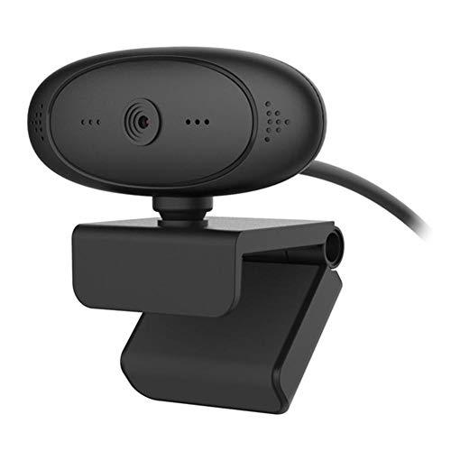 Easy-topbuy Webcam 1080P HD USB Webcam Computer Portatile PC Webcam Multifunzionale con Microfoni per Giochi, Video Chat, Conferenze