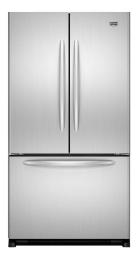 Maytag MFF2558VEM 24.8 Cu. Ft. Stainless Steel French Door Refrigerator - Energy Star