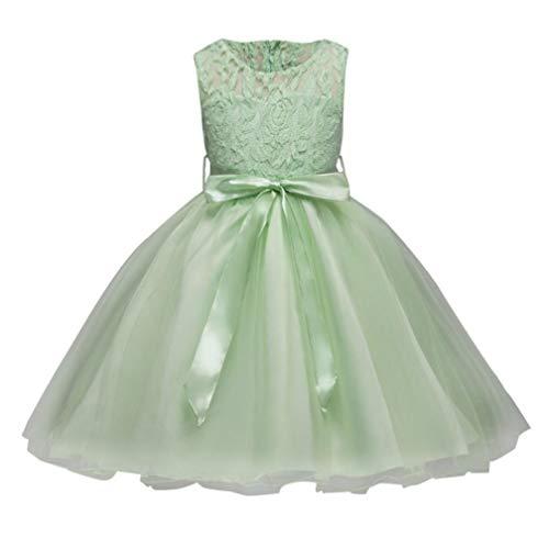 AIKSSOO formele prinsesjurken kleine kinderen baby meisjes feesttouw vakantie bruiloft bruidsmeisjes jurken outfits voor 3-10 jaar oud
