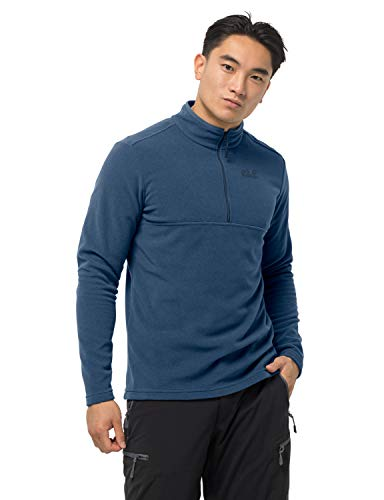Jack Wolfskin Arco Homme Sweatshirt, Indigo Blue Stripes, FR (Taille Fabricant : XL)