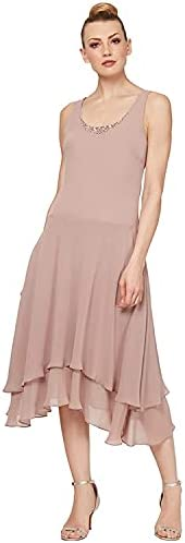 Champagne dress for wedding guest _image1