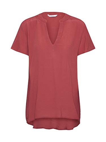 ONLY Damen ONLMOLLY SS V-Neck WVN Bluse, Spiced Apple, 40