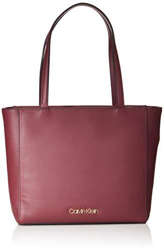 Calvin Klein Damen Tote Transportkiste, Wein, One Size