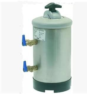 Compact Countertop Water Softener For Espresso Coffee Machines w/Resin DVA LT8