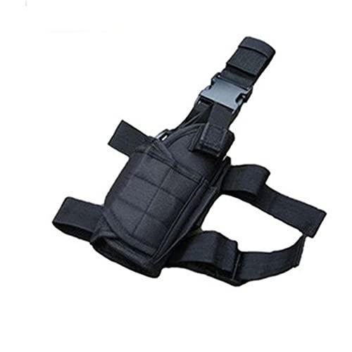 LIZHOUMIL Beinschoner aus 600D-Oxford-Gewebe, Beinschutz mit Taschen, Mehrzweck-Beintaschen, Outdoor-Ausrüstung, schwarz