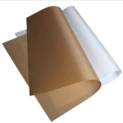 40x60cm wärmebeständige Folie Grill Pad Antihaftwiederverwendbare Backen-Matte Backblech Papierauflage Ofen Oilpaper Für Außen
