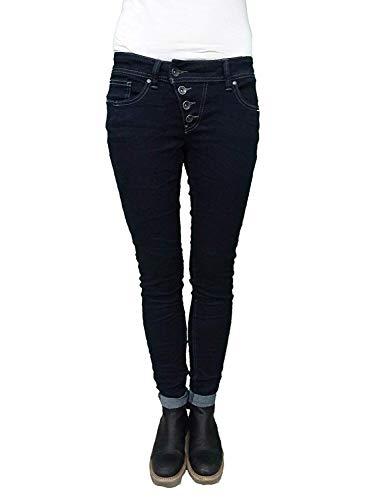 Buena Vista Damen Jeans Malibu Slim Fit darkblue (83) S