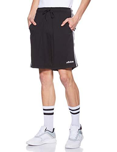 adidas Essentials French Terry 3 Bandas Pantalón Corto, Hombre, Negro (Black), L