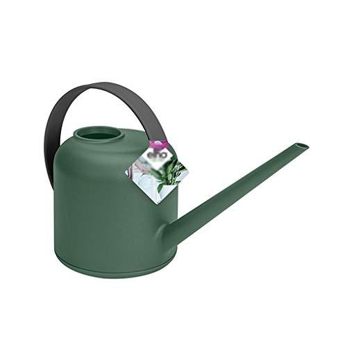 Kiter Arrosoir Vintage PP Plastique Long Bec Arrosoir for extérieur et intérieur Maison Plantes Arrosoir arrosoir (Color : Green)