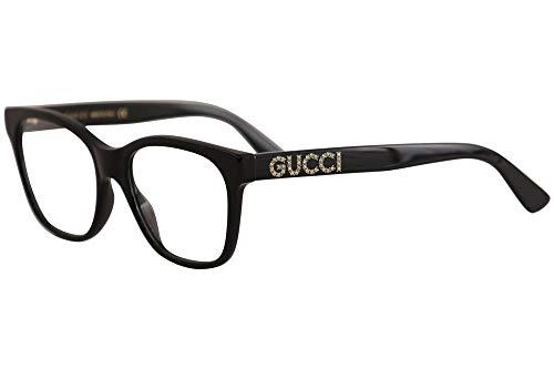 Gucci Brille (GG-0420-O 001) Acetate Kunststoff glänzend schwarz
