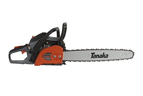 Tanaka TCS51EAP 50.1CC 20-Inch Rear Handle Chain Saw with PureFire Engine