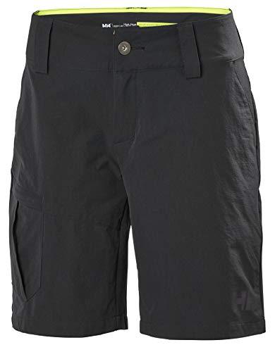 Helly Hansen Damen Qd Cargo Shorts, Schwarz, 30