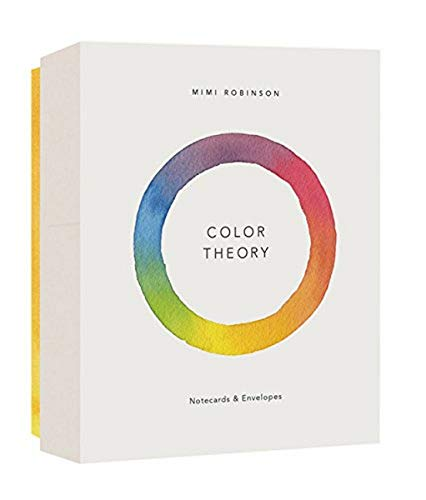 Price comparison product image Color Theory Notecards (12 notecards 6 designs,  12 envelopes in a keepsake box)