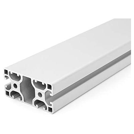 50mm 12,50 EUR//m + 0,25 EUR pro Schnitt, min. 2,50 EUR Zuschnitt 50mm-2000mm Aluminiumprofil 40x40L I-Typ Nut 8