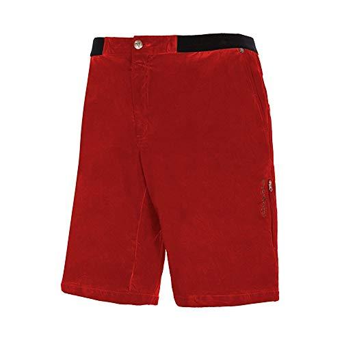 Trango Pant. Corto Duel Vt Short Homme, Rouge, M