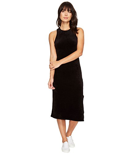 Juicy Couture Black Label Women#039s Stretch Velour Fitted Tank Dress
