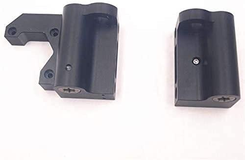 Fácil de Reparar Accesorios de Impresora 1Set para A-N-ET/For Prusa I3 MK2 / MK3 Negro Anodizado Aluminio X For Motor/X Kit Idler Metal X For Motor End For Motor/End Piezas de Impresora 3D (Tama