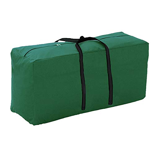 Linkooler Outdoor Garden Furniture Seat Cushions Cover Storage Bag with Strong Zipper and Handles Waterproof