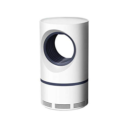 Unknow Lampe Anti-Moustique à Basse Pression UV USB Anti-Moustique LED extincteur antiparasitaire, Blanc, 5