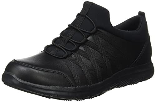 Skechers GHENTER DAGSBY, Zapatillas Mujer, Black, 38 EU
