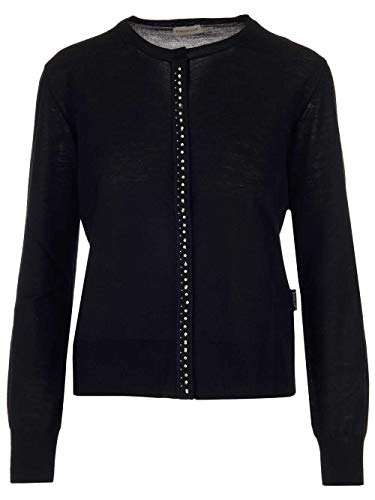 Moncler Luxury Fashion Damen 9B70200A9326999 Schwarz Wolle Strickjacke | Frühling Sommer 20