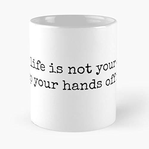 KiwLa Sherlock Mycroft Holmes John Watson Life Taza de café con Leche 11 oz