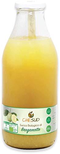 Chesud 200ml oder 750ml Bio Bergamottensaft 100% Frucht Direktsaft nicht aus Konzentrat Bergamotte aus Italien 0,2L oder 0,75L (Bergamotte, 750ml)