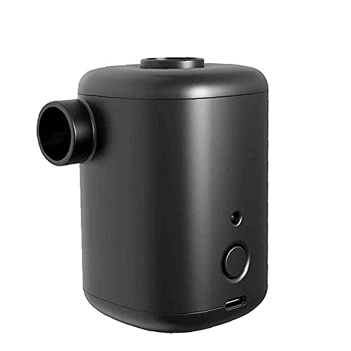 SONG Pompa ad Aria Portatile da Esterno a Doppio Uso, con 4 ugelli, Mini Pompa elettrica per Nuoto, Piscina per la casa Pompa ad Aria Wireless