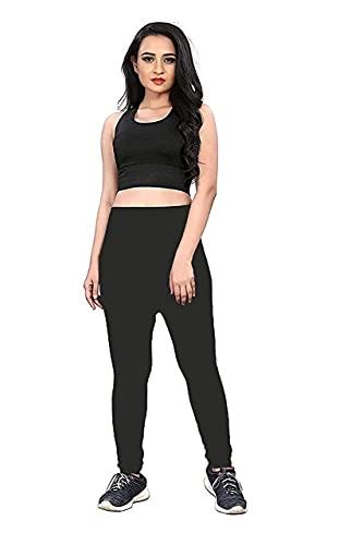 Denique Women's Fitness Workout Clothing Gym Sports Running Slim Leggings Yoga Tracksuit(multi colours)