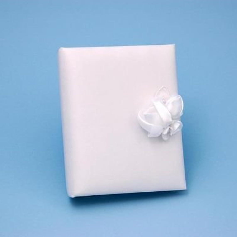 Amour Wedding Album, 4-Inch by 6-Inch, White