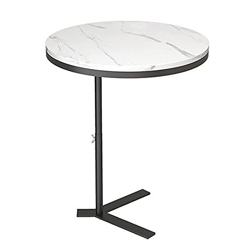 Xkun sala de estar perdonar soporte de hierro mesa de ocio sofá mesa auxiliar mesa redonda computadora