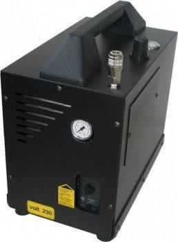 Draagbare, stille en olievrije compressor waardeher Black Mamba E