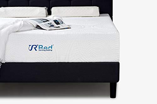 Sunrising Bedding 12 inch Memory Foam Mattress