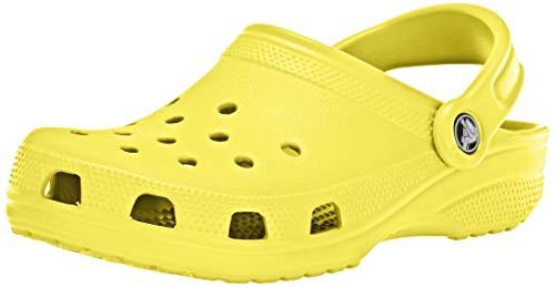 Crocs Men's and Women's Classic Clog (Retired Colors), Citrus, 13 Women / 11 Men
