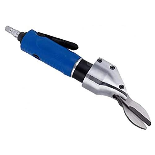 Aire tijeras neumáticas Tijeras Derecho Tipo de servicio pesado aire esquila herramienta de acero inoxidable de la hoja de metal azul