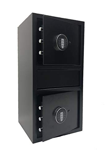 Southeastern F2614EE Double Door Cash Drop Depository Safe with Digital lock & back up key