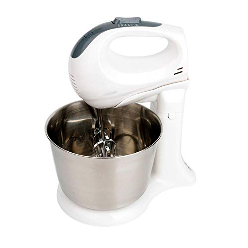 Standmixer Ultra Power Heavy Duty Motor Garde Tilt- Kitchen Food Mixer Roestvrijstalen kom Deeghaak Flat Beater