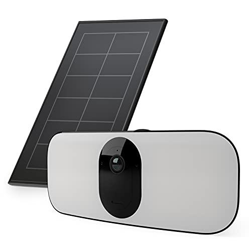Lot de 1 Camera Arlo Pro3 floodlight et Un Panneau Solaire -...