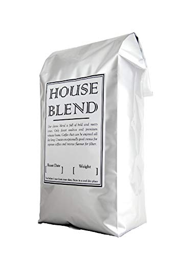 Fresh Roasted 1kg Coffee Beans, Medium Roast Espresso, House Blend, INTRODUCTION OFFER, Intense Flavour and Super Crema. Italian Style