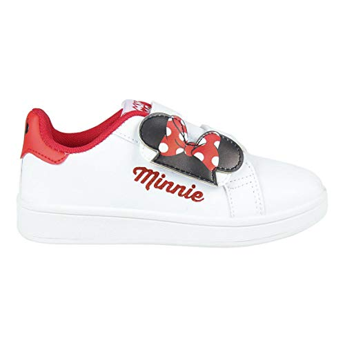 CERDÁ LIFE'S LITTLE MOMENTS Cerdá-Zapatillas Deportivas Minnie Mouse de Color Blanco, Niñas, 27 EU