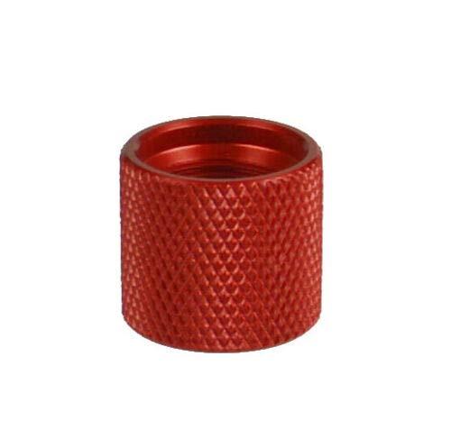 DB TAC 1/2 x 28 Thread Protector Aluminum 6061 T6 Red Color 1/2-28 Thread