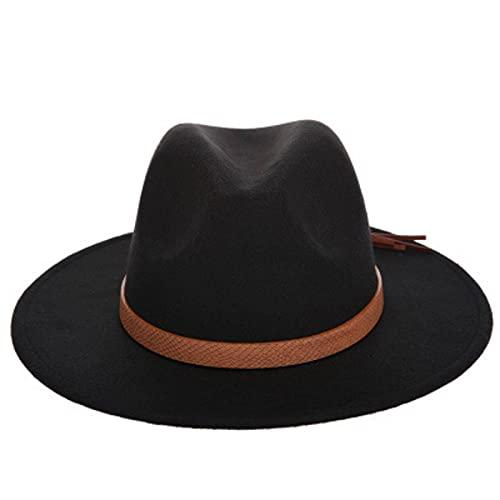 Sombreros de Jazz de fieltro de lana de ala ancha para mujer, Sombreros de sol para mujer, Sombreros de playa para mujer, Sombreros de fiesta, Sombreros de graduación, Sombreros para el sol, Sombreros