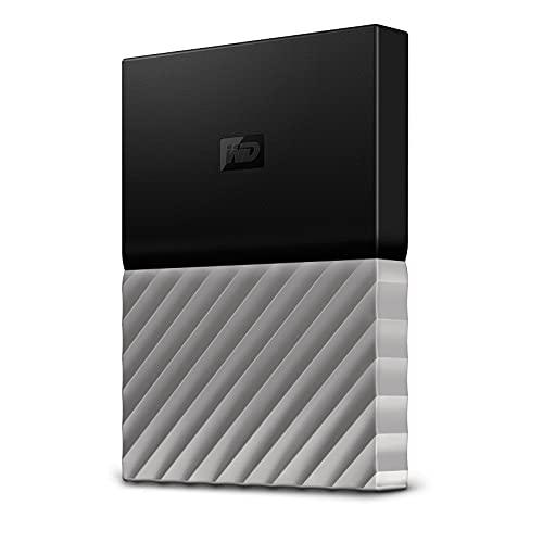 WD My Passport Ultra 2TB - Disco Duro Externo (USB Tipo A, 3.1 Gen 1, Negro/Plata)